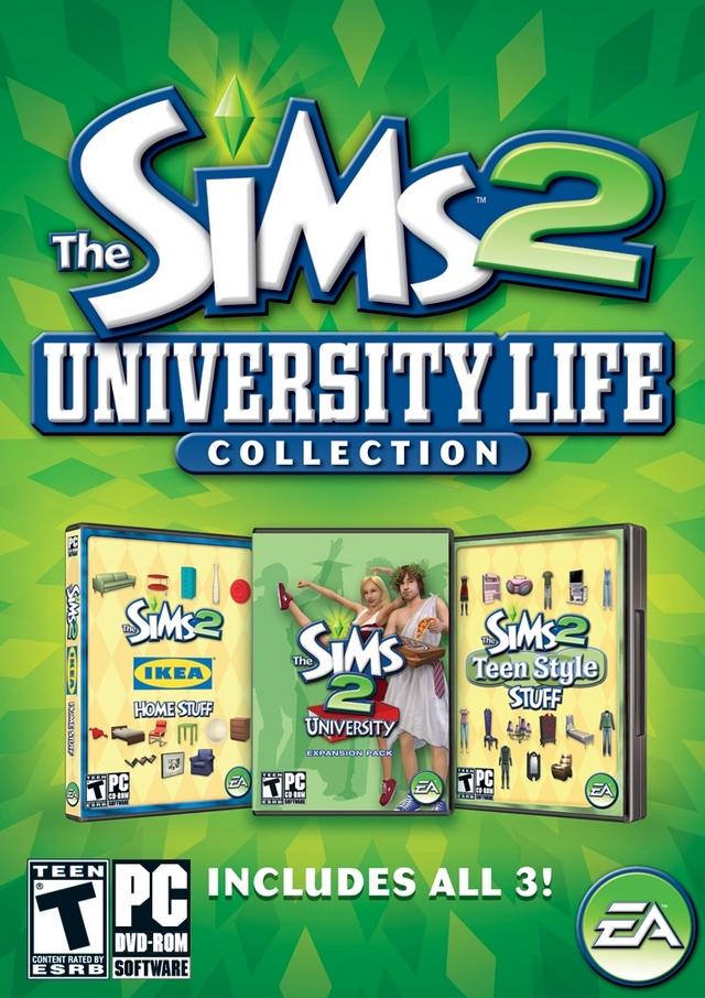 The Sims 2 University Life Collection - новости, дата выхода, системные тре